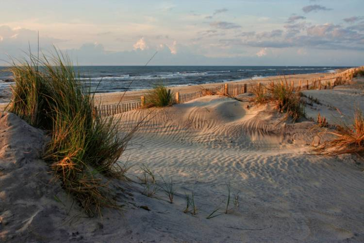 A view of the Outer Banks beaches